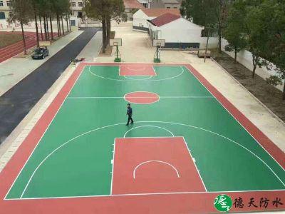 篮球球场地坪漆